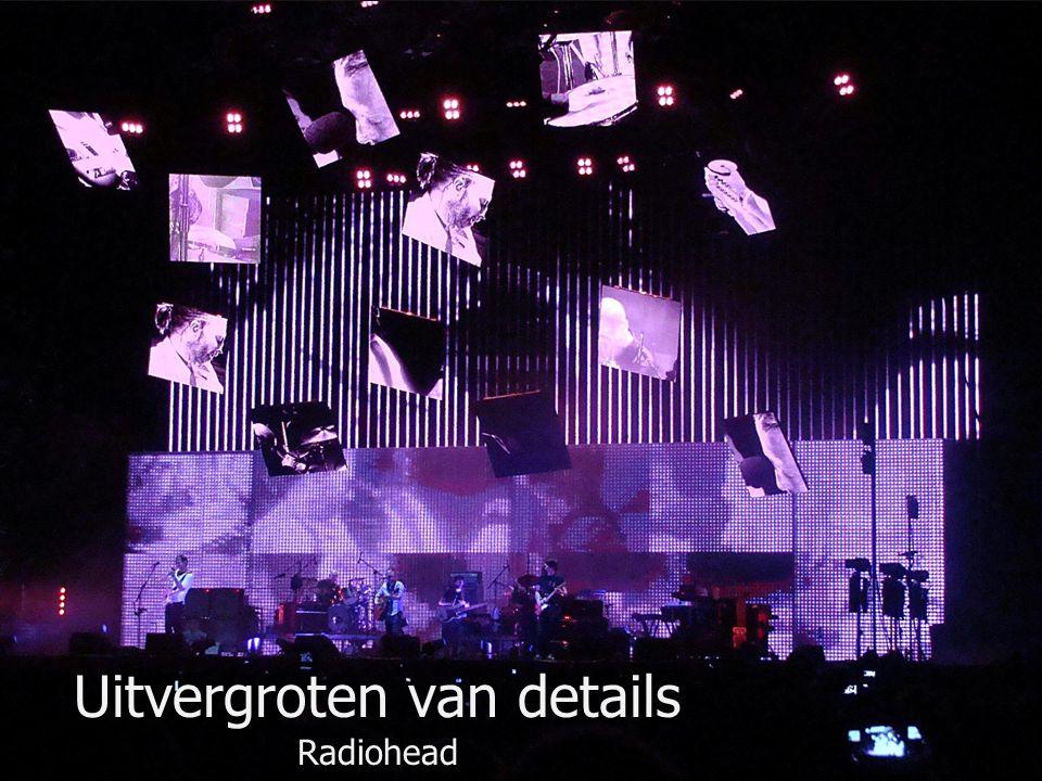 Uitvergroten van details Radiohead