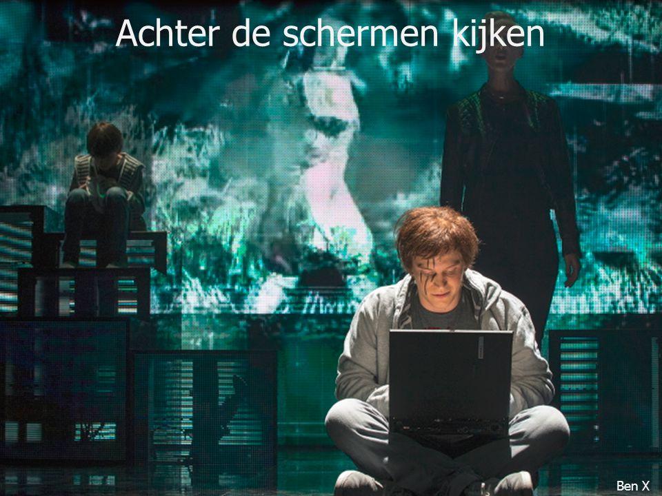 Achter de schermen kijken Ben X
