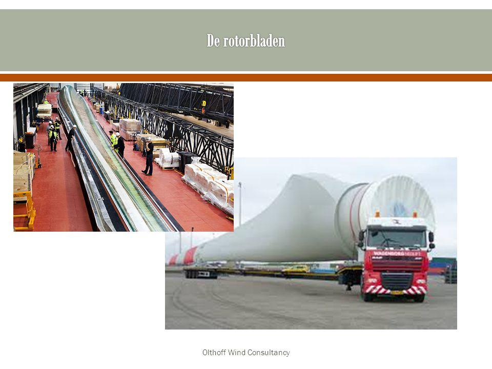 Energie in de wind = afhankelijk van gewicht en snelheid Gewicht wordt bepaald door volume lucht per seconde Olthoff Wind Consultancy