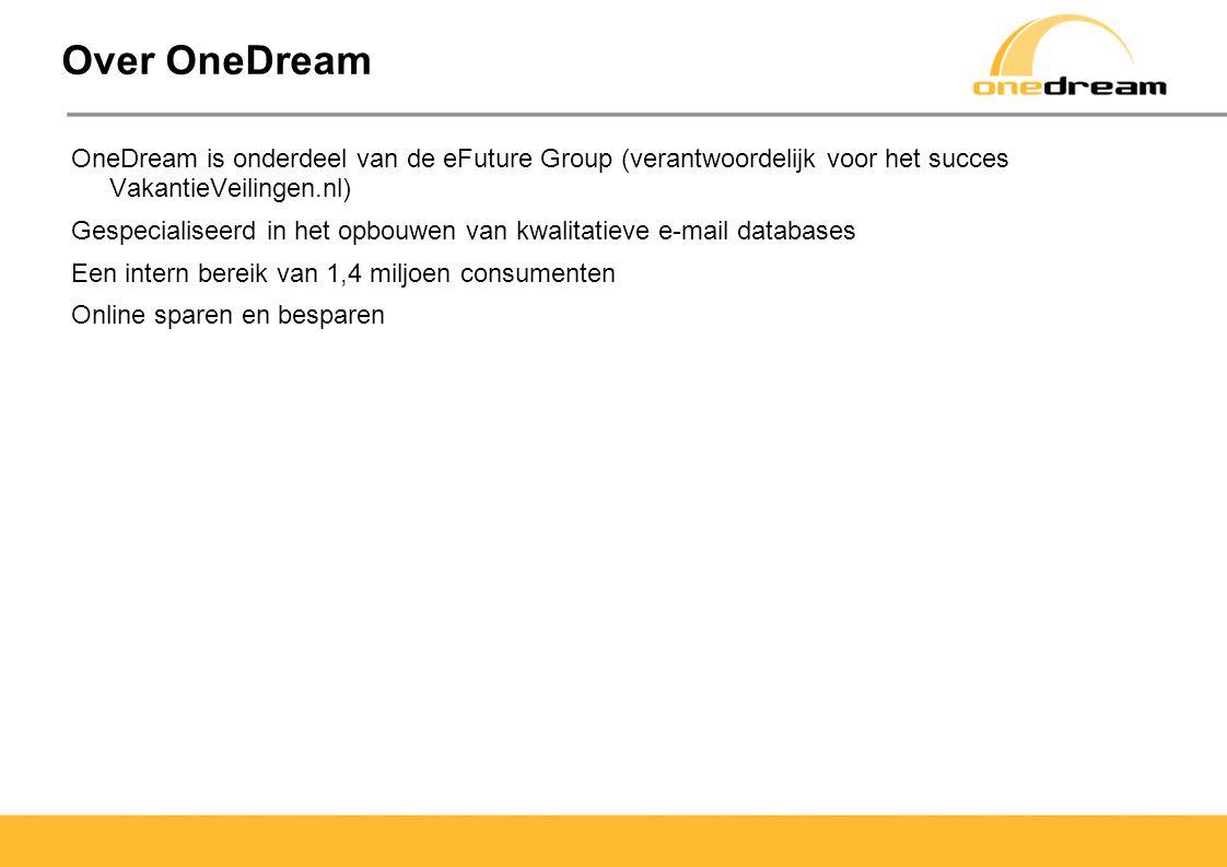 Doelstellingen OneDream heeft een online lead campagne opgezet voor Hotelspecials.