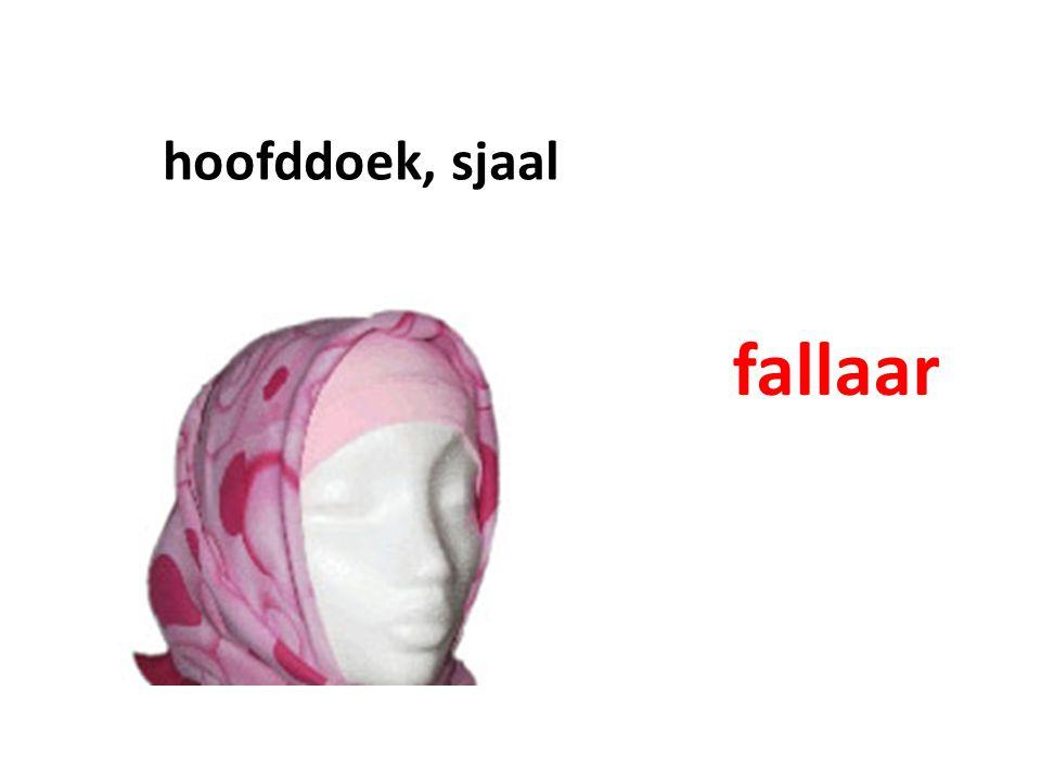 hoofddoek, sjaal fallaar