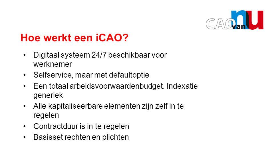 Opening door Hans Borstlap Hoe werkt een iCAO.