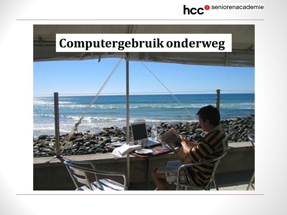 Computergebruik onderweg