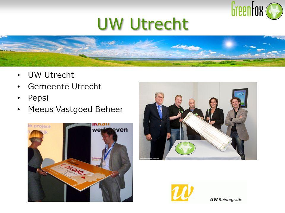 UW Utrecht Gemeente Utrecht Pepsi Meeus Vastgoed Beheer