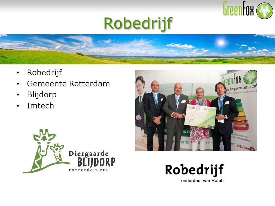 Robedrijf Gemeente Rotterdam Blijdorp Imtech