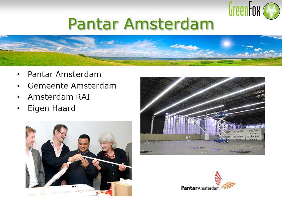Pantar Amsterdam Gemeente Amsterdam Amsterdam RAI Eigen Haard