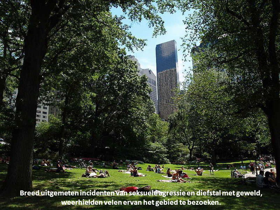 Het park is, zoals het grootste deel van New York City, overdag veilig, maar in vroegere tijden was het de plaats van talloze diefstallen en verkrachtingen.