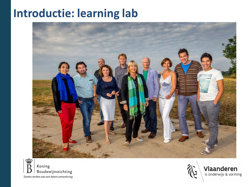 Introductie: learning lab