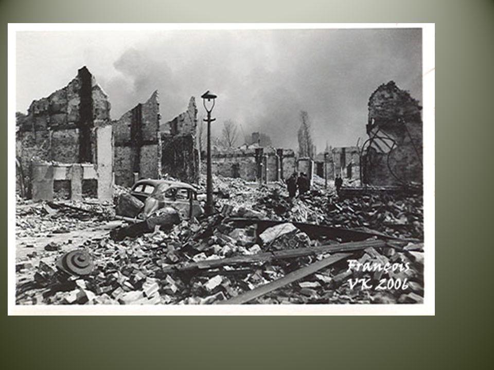 Voortaan werd alles gecontroleerd door de Duitsers.