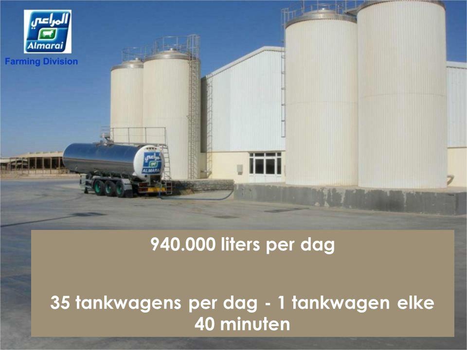 Totaal koeien - 15.800 Kalveren – 18.000 R.H.A. - 12.500 Botervet - 3.3 % Al Danah melkfabriek