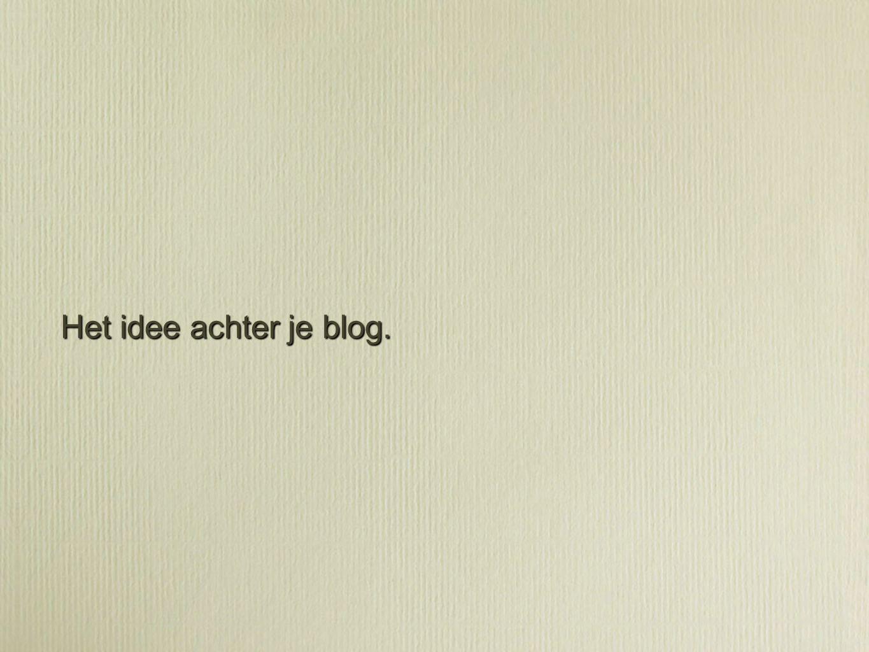 Schrijf een about-page.
