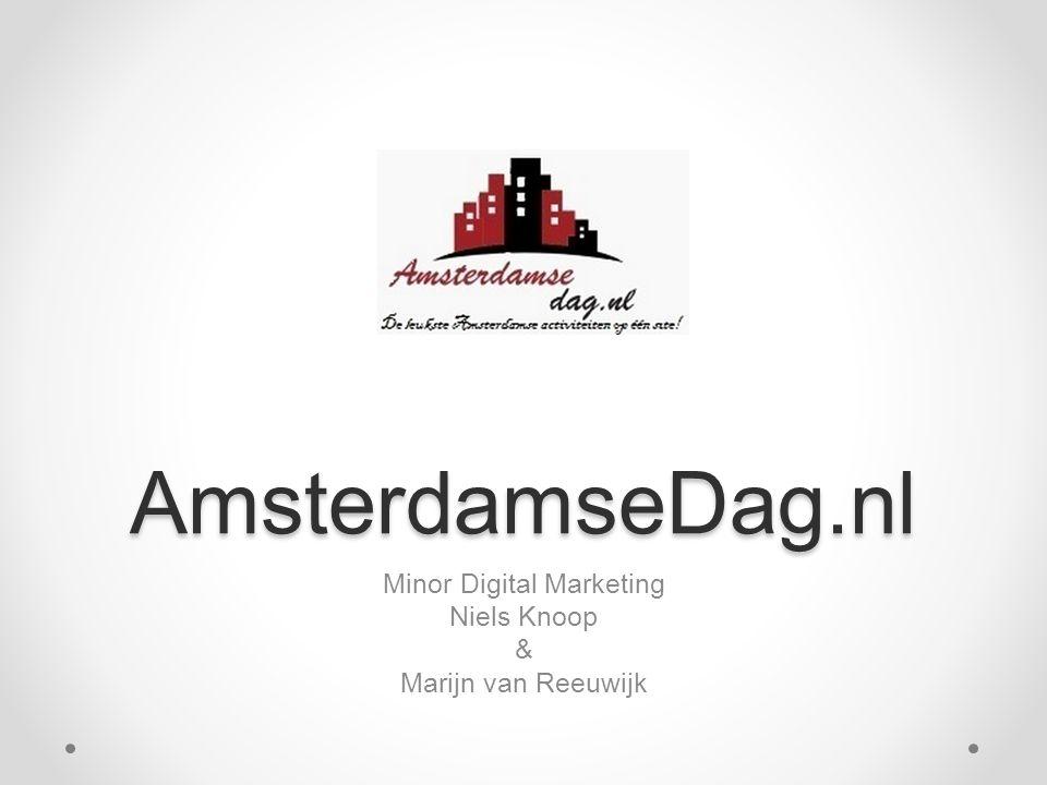AmsterdamseDag.nl Minor Digital Marketing Niels Knoop & Marijn van Reeuwijk