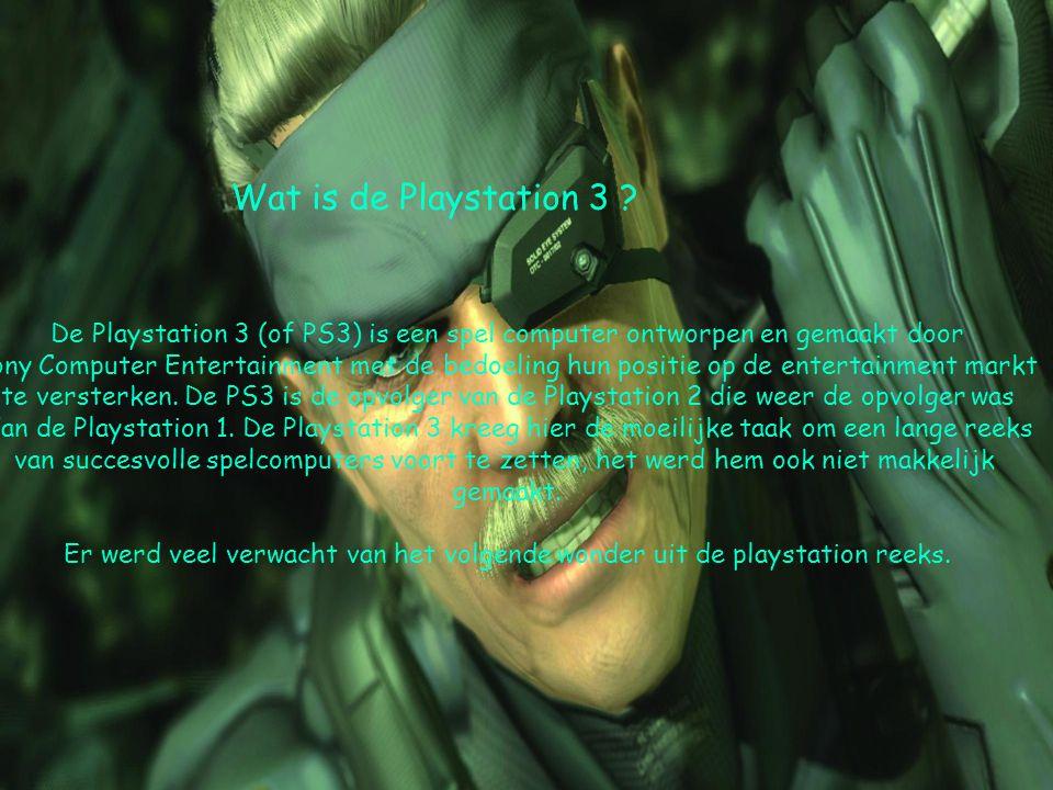 Wat heeft de Playstation 3 te bieden .