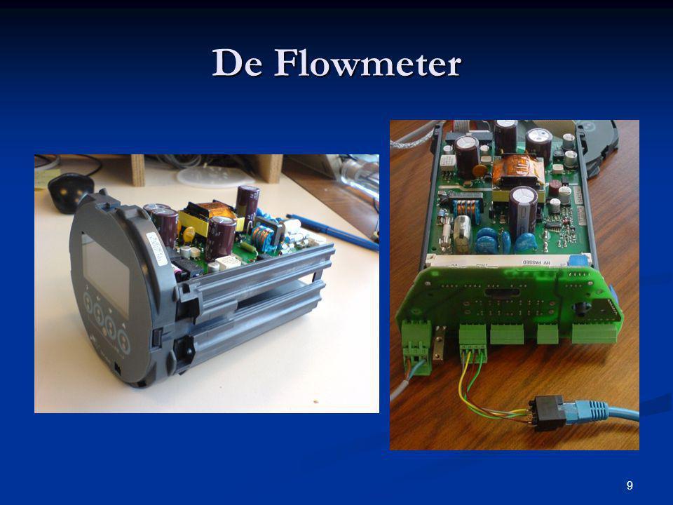 10 De Flowmeter