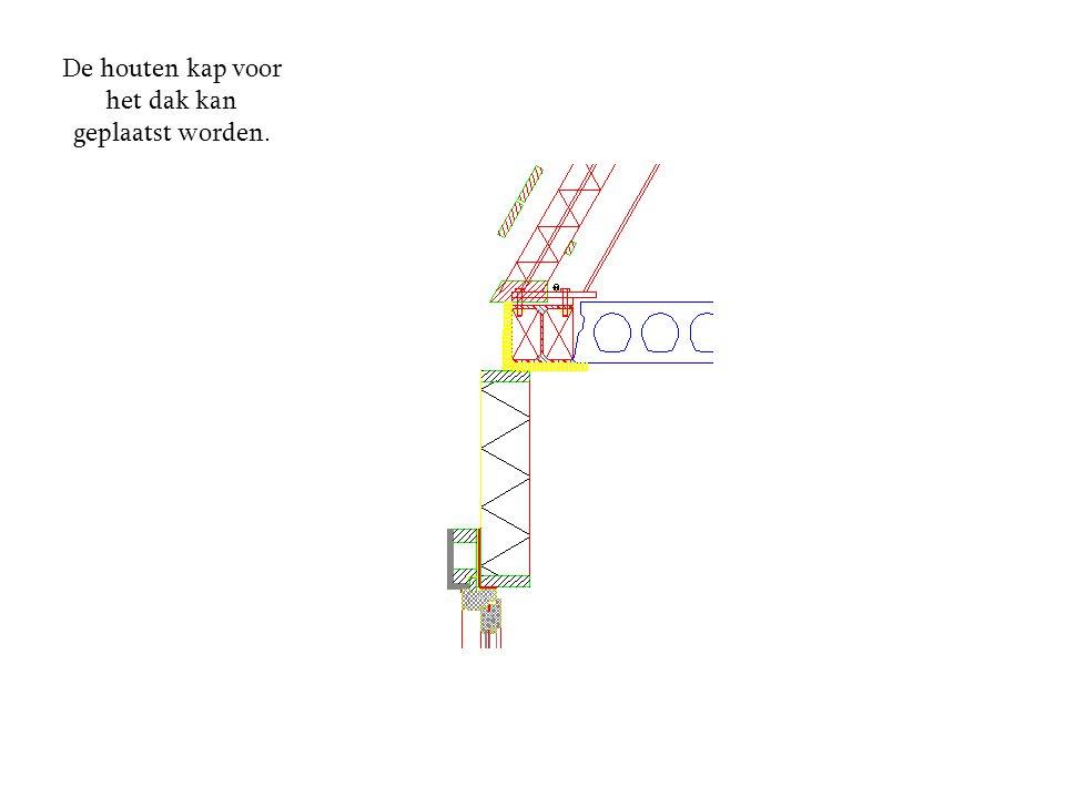 Vervolgens kunnen de metselaars beginnen met het aanbrengen van het metselwerk.