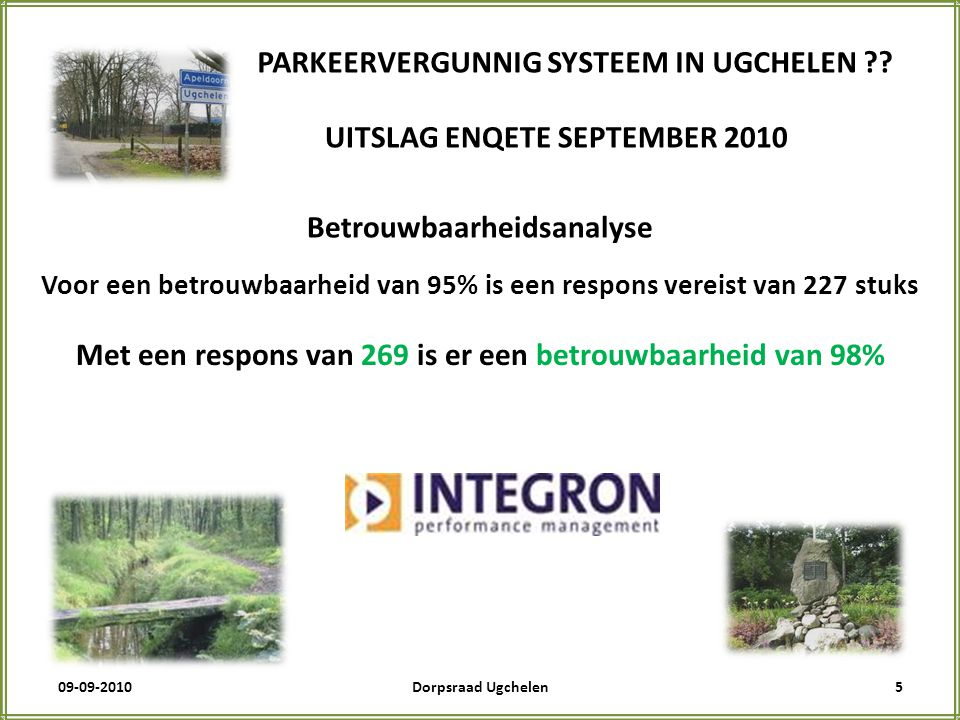 09-09-20105Dorpsraad Ugchelen PARKEERVERGUNNIG SYSTEEM IN UGCHELEN .