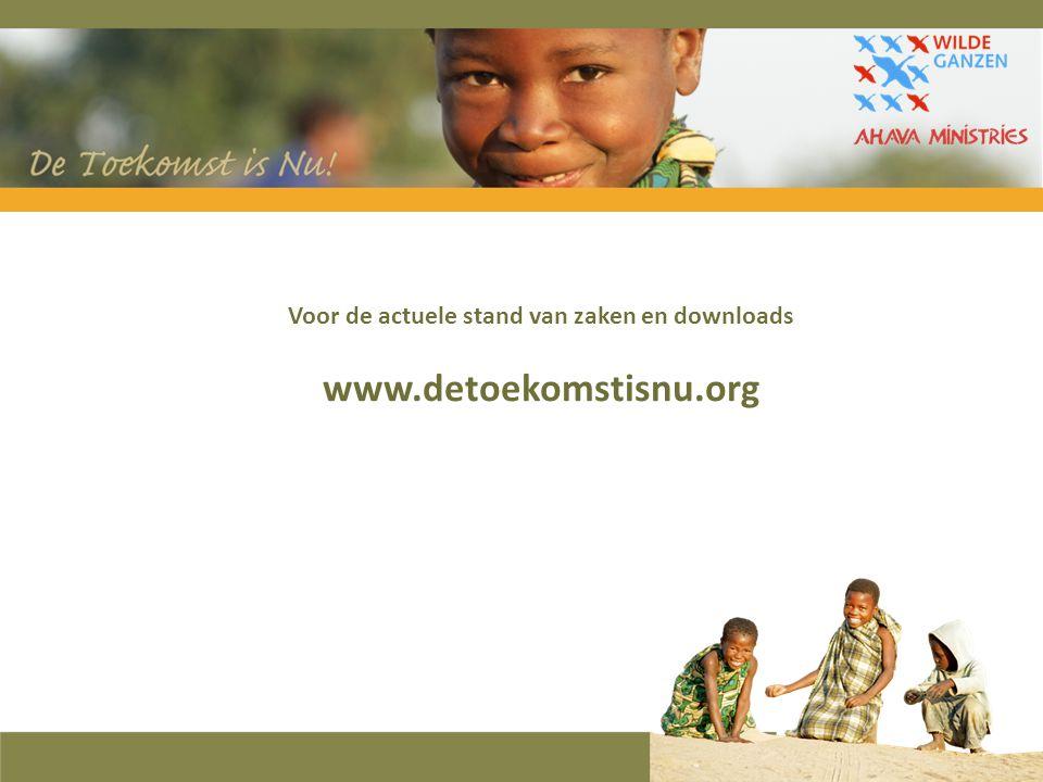 Voor de actuele stand van zaken en downloads www.detoekomstisnu.org
