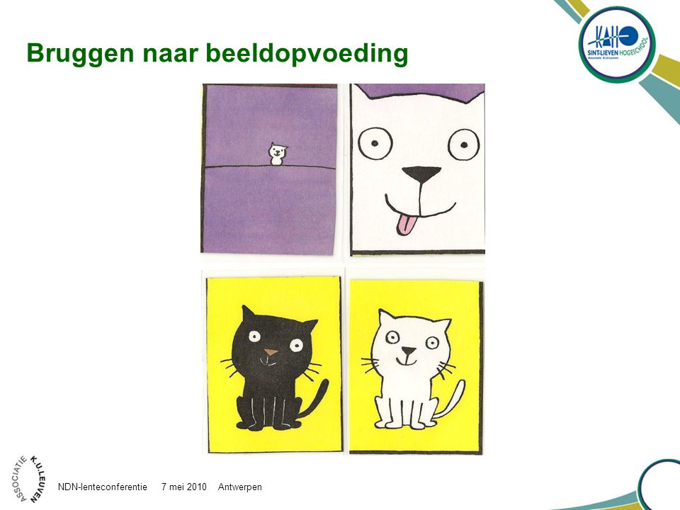Bruggen naar beeldopvoeding NDN-lenteconferentie 7 mei 2010 Antwerpen