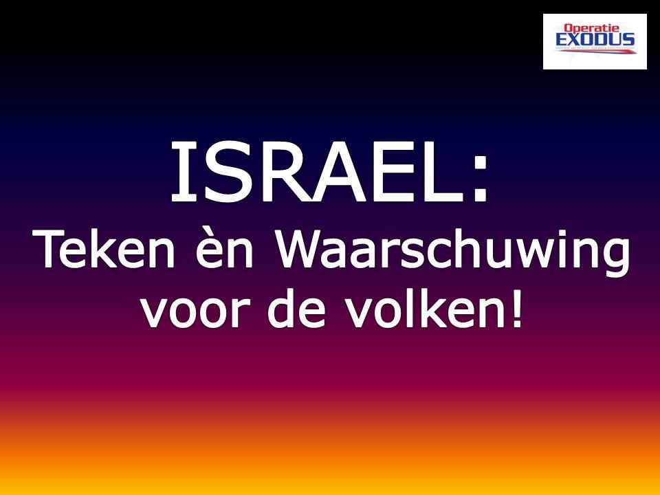 Waarom de Joden (Israël) terugbrengen naar hun land.