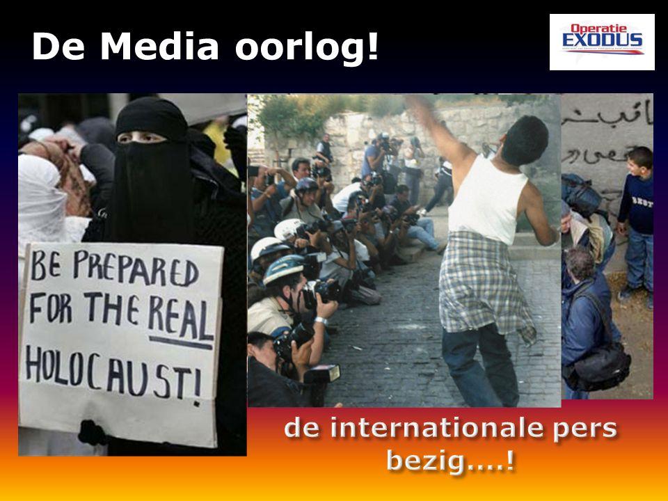 De Media oorlog!