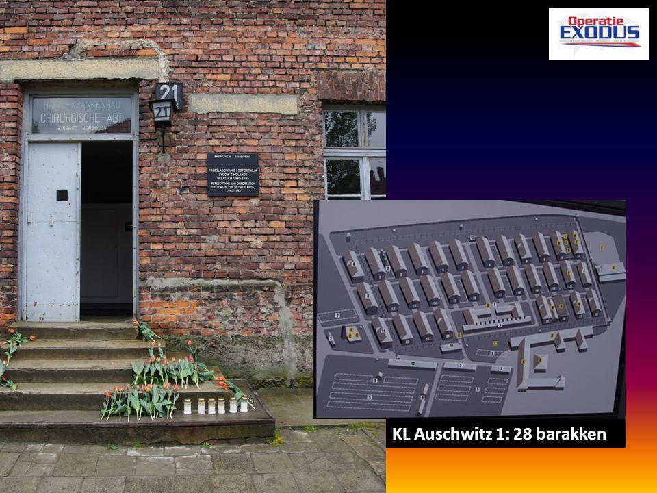KL Auschwitz 1: 28 barakken