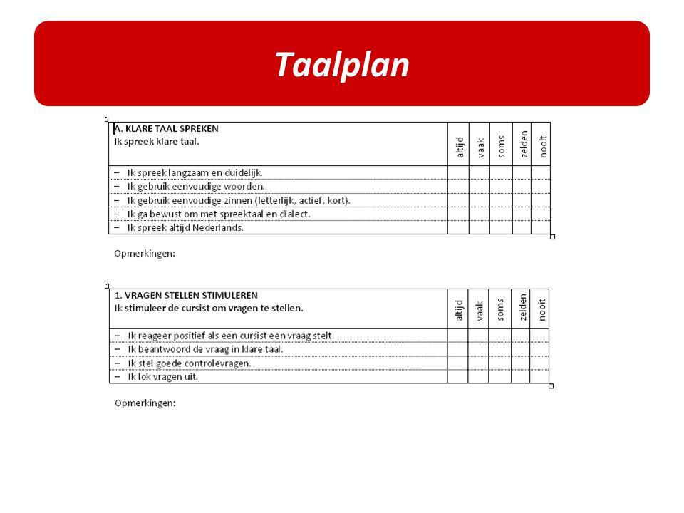 Taalplan