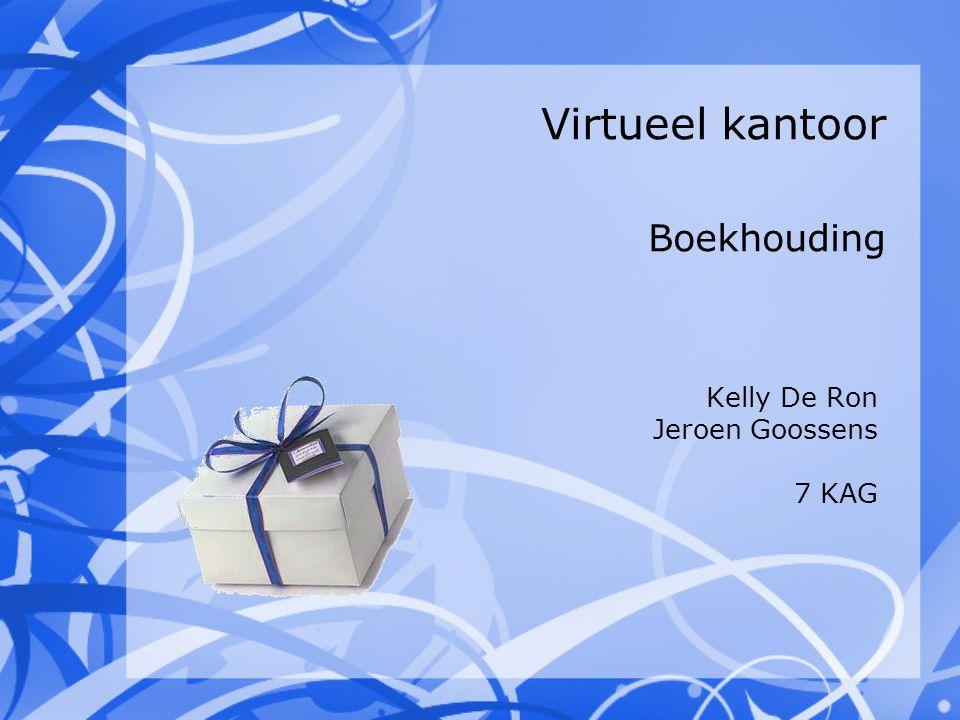 Virtueel kantoor Boekhouding Kelly De Ron Jeroen Goossens 7 KAG