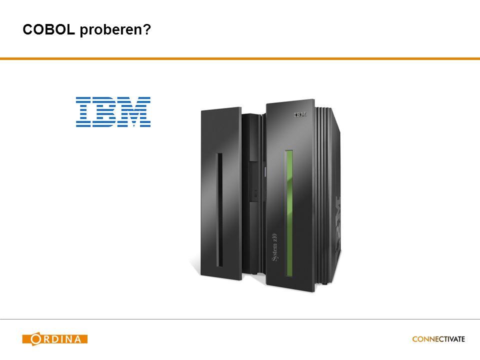 COBOL proberen
