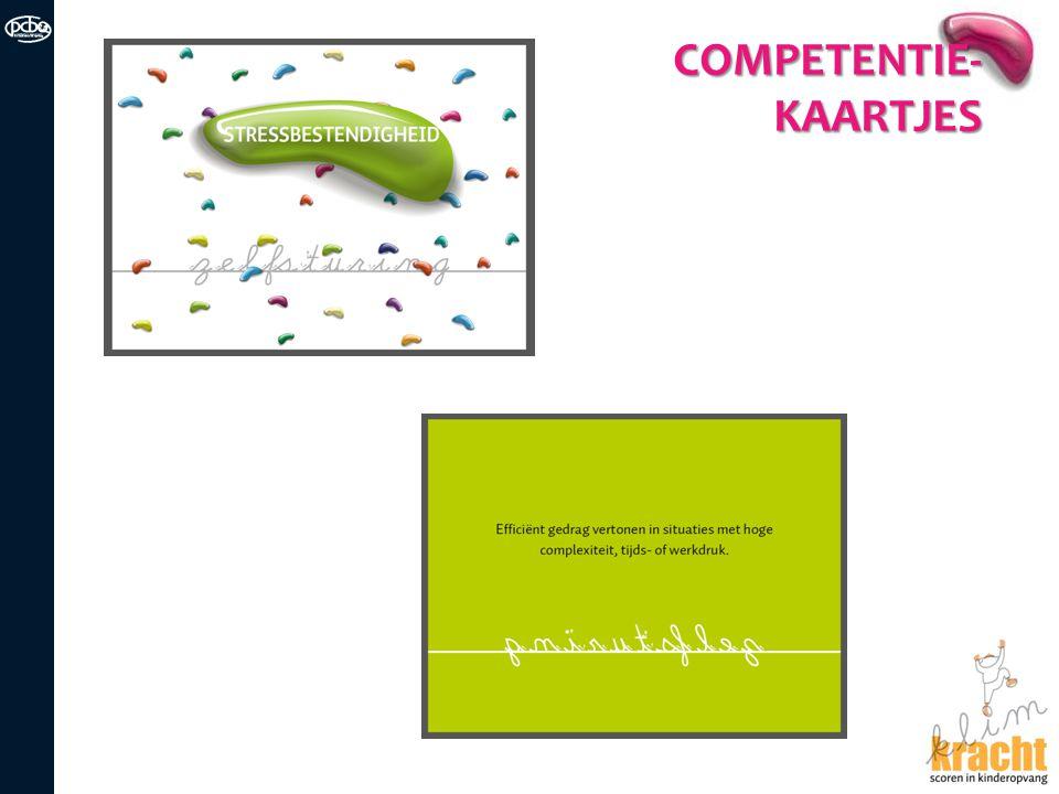 COMPETENTIE- KAARTJES