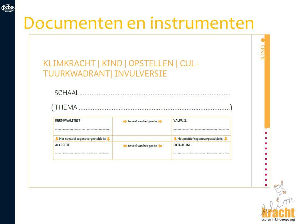Documenten en instrumenten