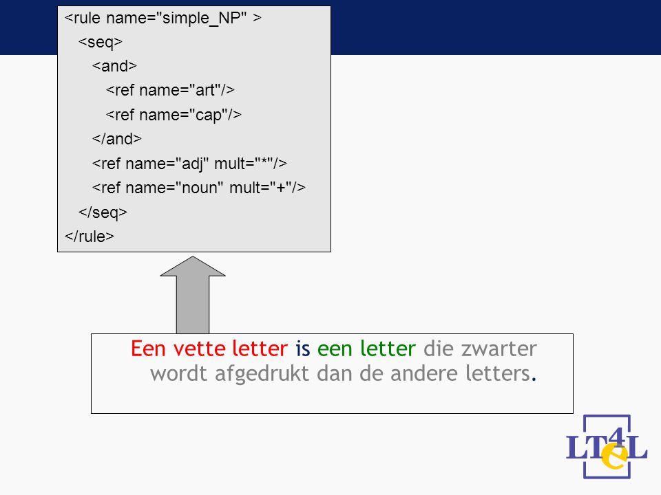 Een vette letter is een letter die zwarter wordt afgedrukt dan de andere letters.