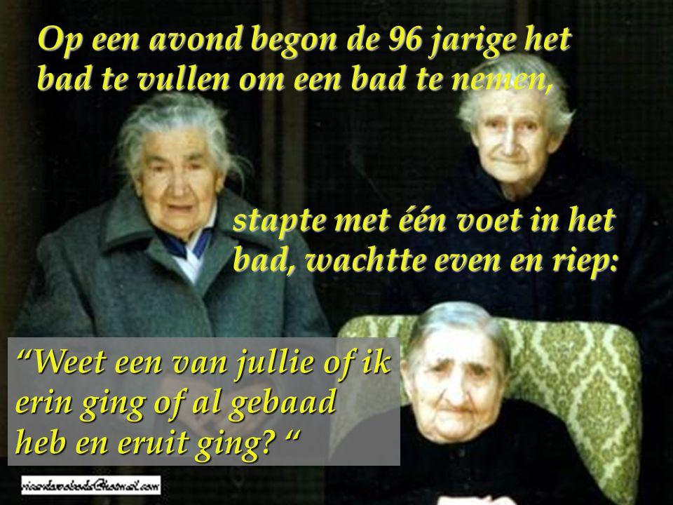 Drie zusters 96, 94 en 92 jaar oud woonden samen in één huis…