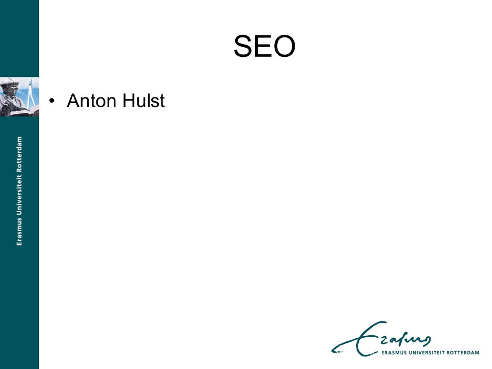 SEO Anton Hulst