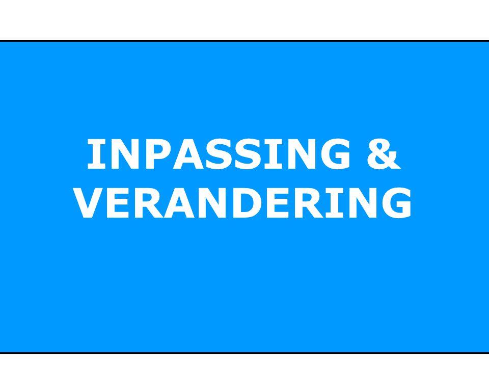 INPASSING & VERANDERING