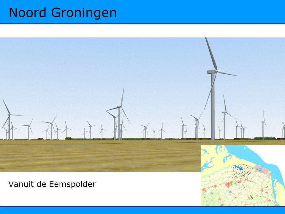 Noord Groningen Vanuit de Eemspolder