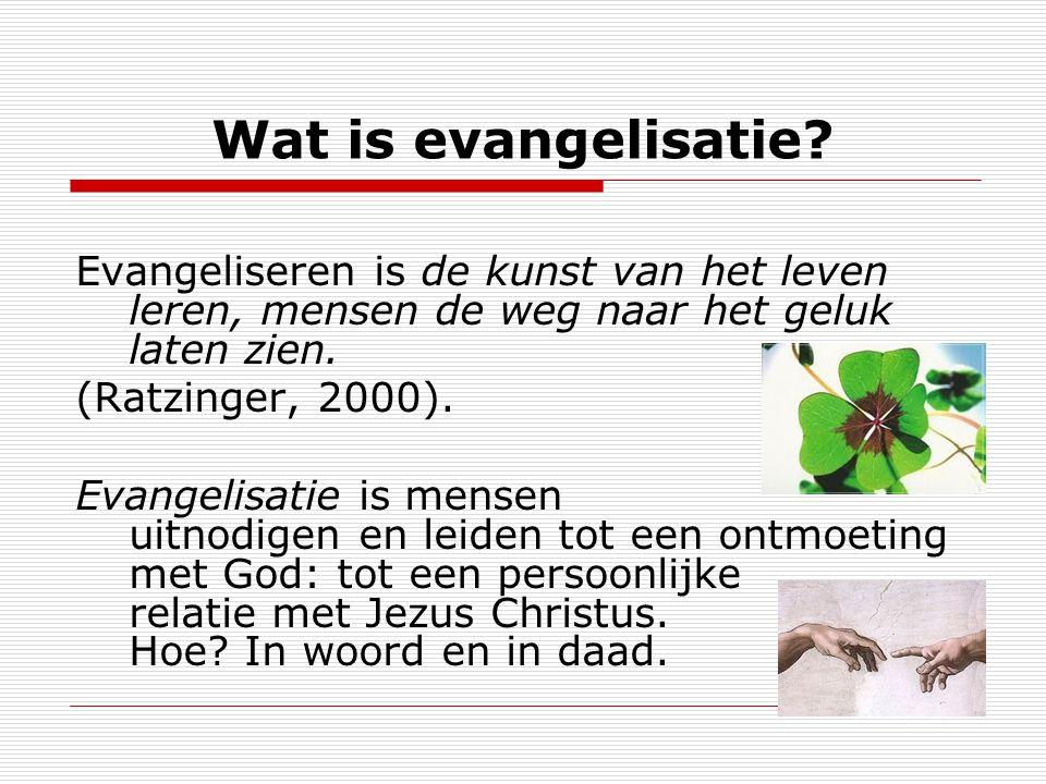 Wat is evangelisatie.