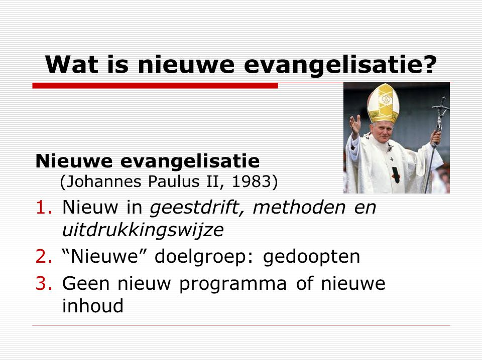 Hoe evangeliseren? (1) Handelingen 8, 26-40 Laten we leren van Filippus