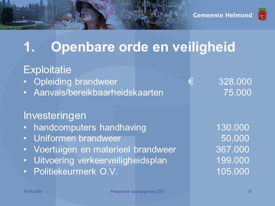 15-09-200615Presentatie raad begroting 2007 1.