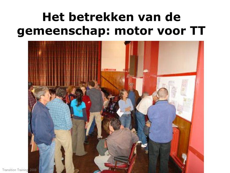 Het betrekken van de gemeenschap: motor voor TT Transition Training 2009