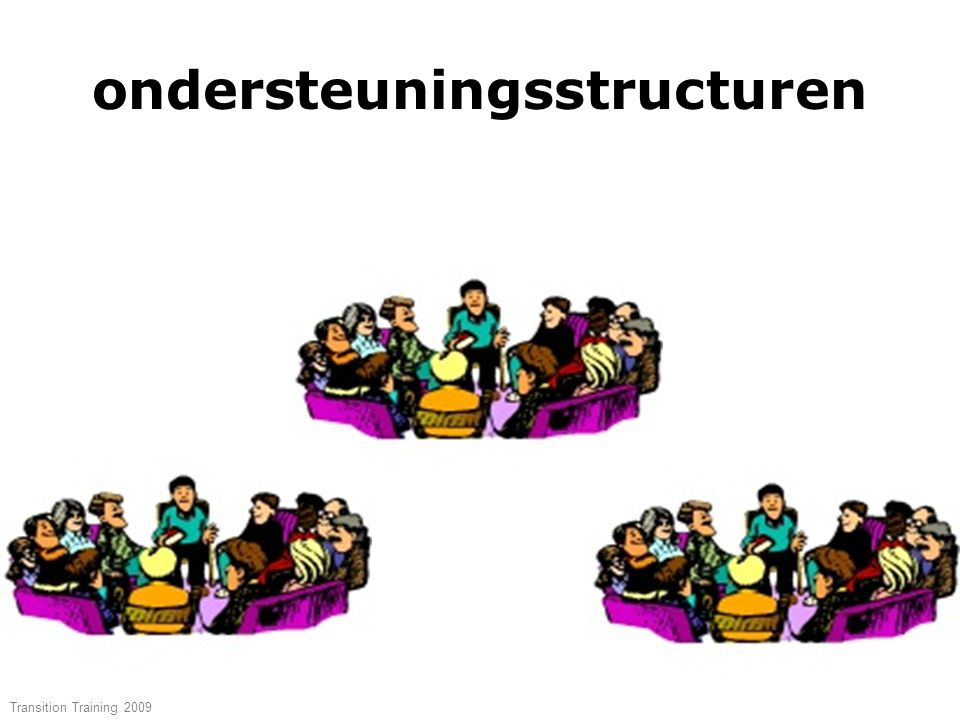 ondersteuningsstructuren Transition Training 2009