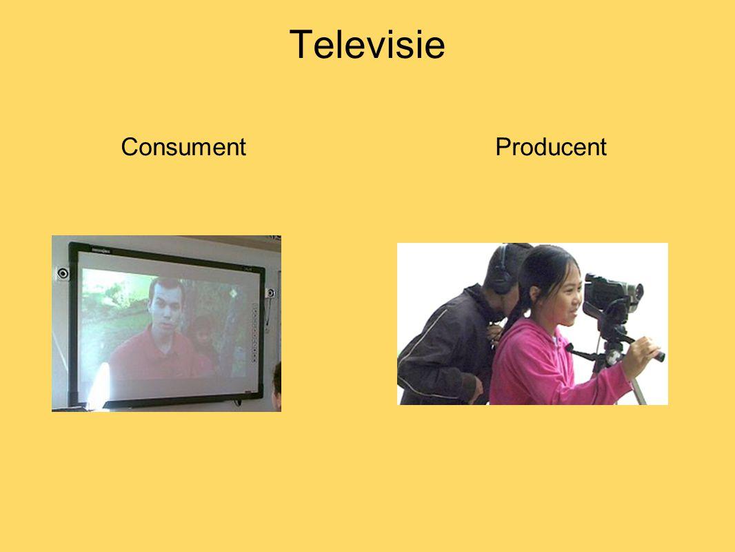 Televisie consumeren tv kijken op digibord - hoge kwaliteit - on demand -eigen ring -één videoserver -knop op platform -archieffunctie
