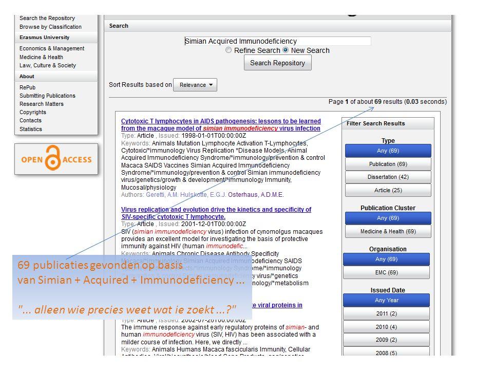 69 publicaties gevonden op basis van Simian + Acquired + Immunodeficiency...