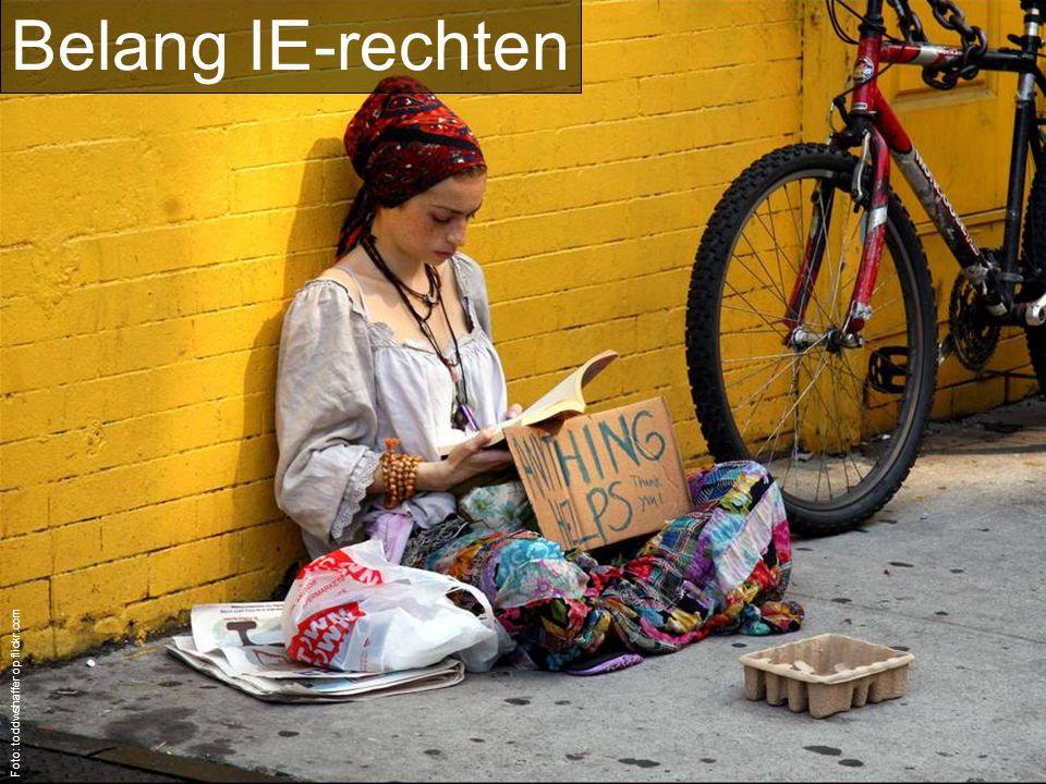 Belang IE-rechten Foto: toddwshaffer op flickr.com