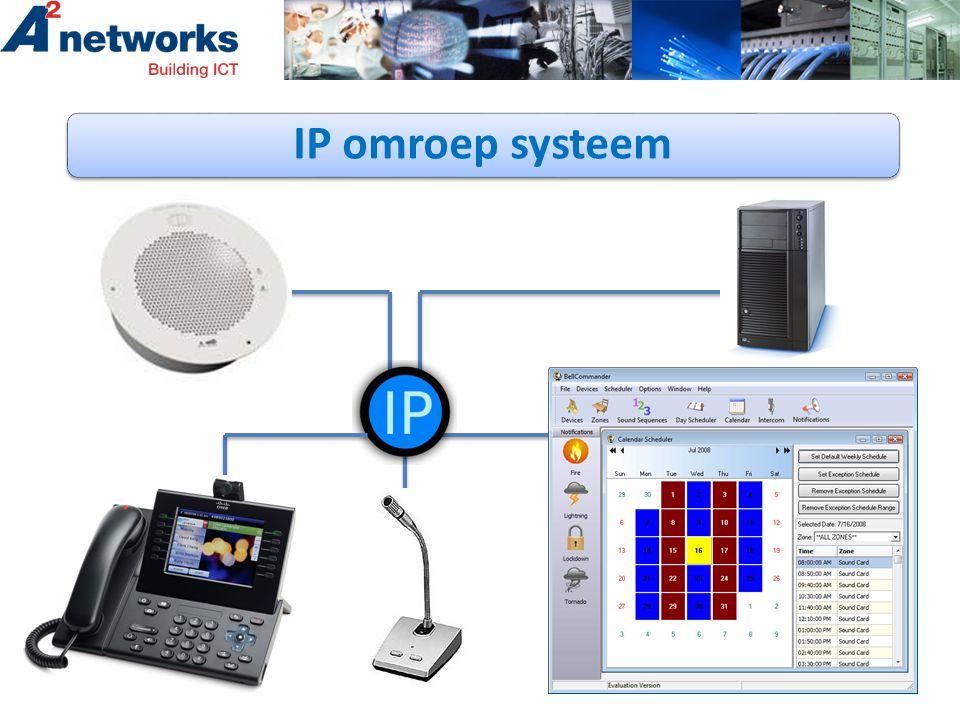 IP omroep systeem