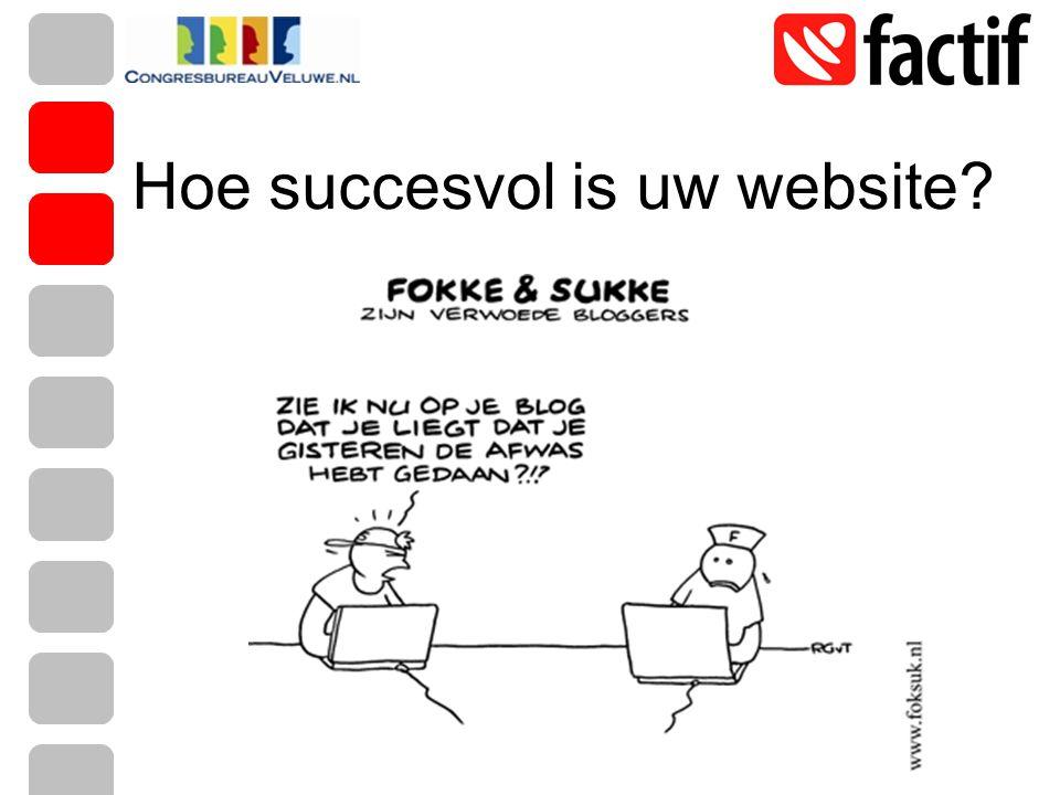 Hoe succesvol is uw website?