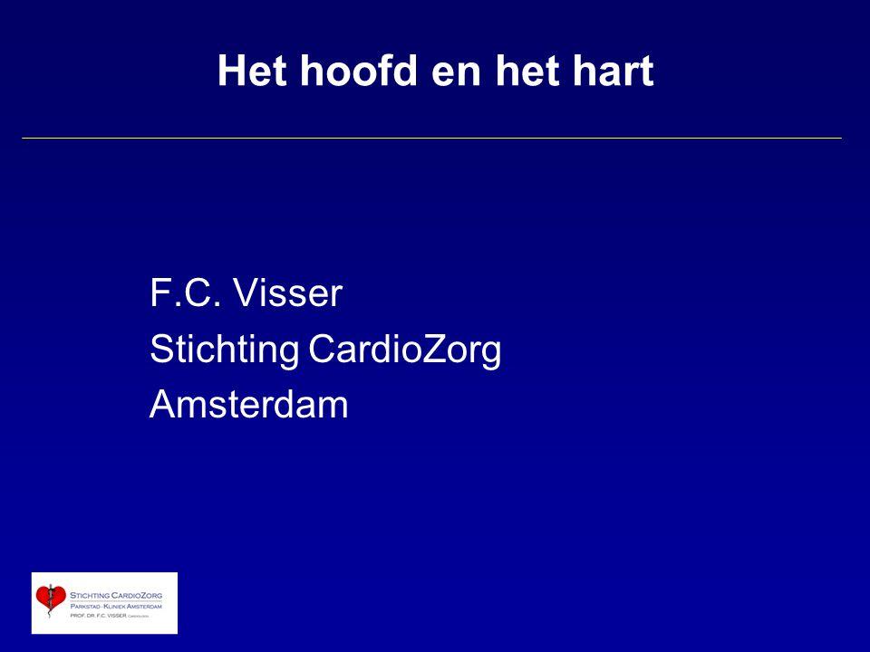 Het hoofd en het hart F.C. Visser Stichting CardioZorg Amsterdam