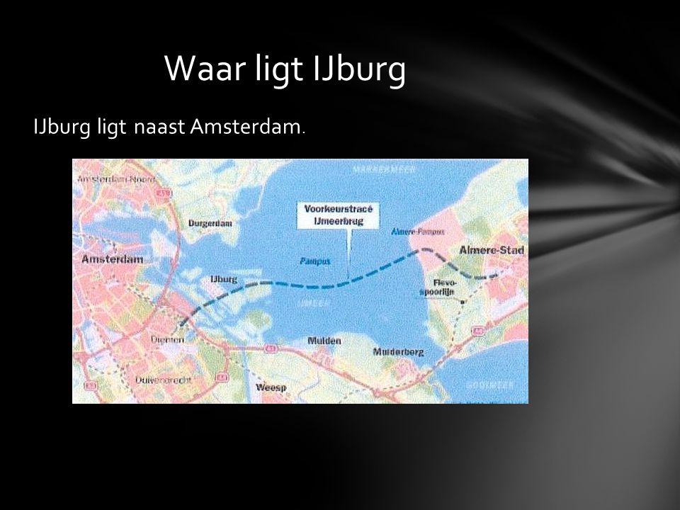 IJburg ligt naast Amsterdam. Waar ligt IJburg