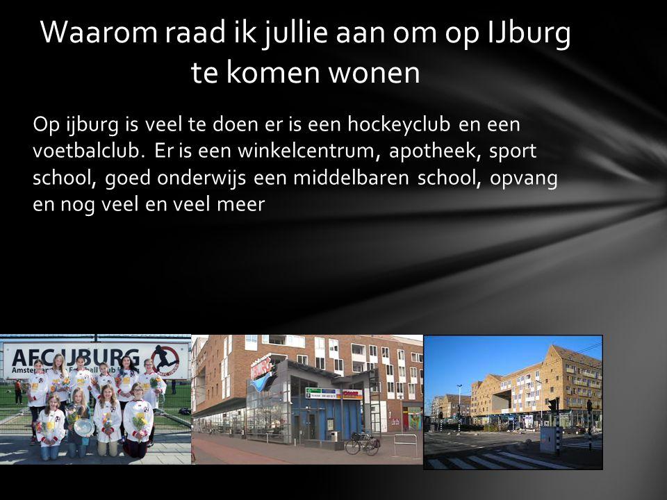 Dit was mijn publicatie over IJburg ik hoop dat jullie er iets van geleerd hebben.