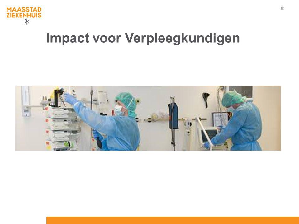 10 Impact voor Verpleegkundigen