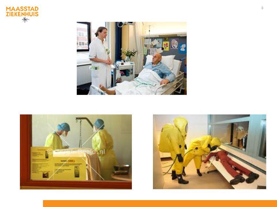 knelpunten Grens Werkzaam Informatiestromen Patiënt op transport Bezoek